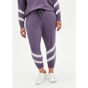 🆕 Purple Tie Dye Terry Classic Fit Active Jogger Pant 3 3X 22 24 NWT Torrid New